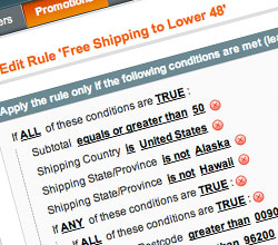 How to Restrict Free Shipping in Magento