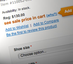 "How to Implement ""See Price in Cart"" Feature in Magento"