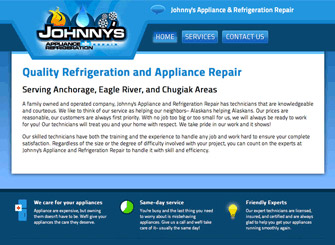 Johnny's Appliance and Refrigeration Repair screenshot