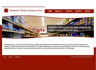 Market Edge Associates screenshot